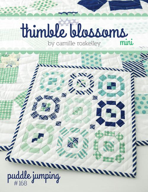Puddle Jumping Mini Quilt Pattern