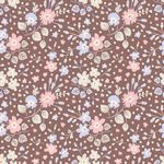Plum Garden Flower Confetti Nutmeg
