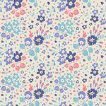 Plum Garden Flower Confetti Blue