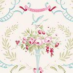 Old Rose Birdsong Dove White