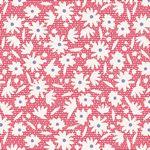 Bon Voyage - Paperflower, Red - by Tilda