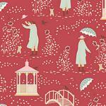 Windy Days by Tilda -   Windy Walk Dusty Red