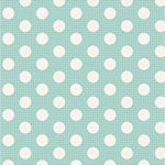 Tilda-Medium Dots Teal+
