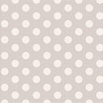 Tilda- Medium Dots (Light Grey)