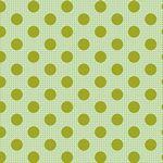 Tilda-Medium Dots Green