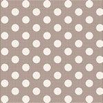 Tilda-Medium Dots Grey+