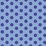 Tilda- Medium Dots Denim Blue