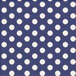 Tilda -Medium Dots Night Blue
