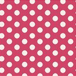 Tilda -Medium Dots Red