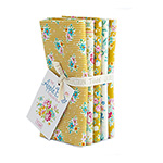 Apple Butter Collection - Fat Quarter Bundle Yellow and White
