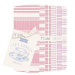 Tea Towel Basics Fat Quarter Bundle - Red Plum