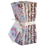 Tilda Plum Garden - Fat Quarter Bundle - Includes 5 Fat Quarters