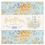 Happy Campers - Charm Pack 5 Squares - by Tilda