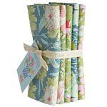 GardenLife-  FQB 5 fabrics Green Sage