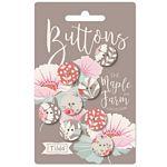 Maple Farm Buttons 16 mm by Tilda TIL400036