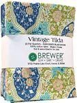 Vintage Tilda Sunkissed Fat Quarter Bundle - Blue/Green