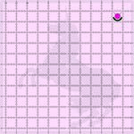 Tula Pink 12 1/2in Square ruler Unicorn 12-1/2 square ruler