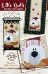 LittleQuilts Table Toppers Dec White Christmas