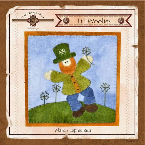 Lil Woolies March Leprechaun