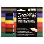 Graffiti Fabric Marker Asst 6A