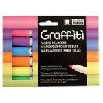 Graffiti Fabric Marker Fluorescent