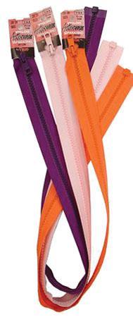 Vislon Separating Zipper White 28IN.