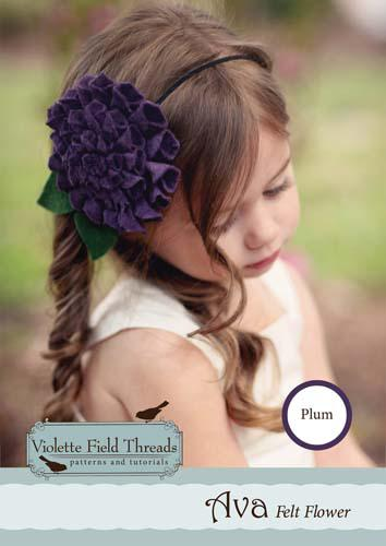 Ava Plum Headband Kit