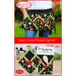 Criss Cross Pocket Apron VHD199
