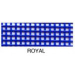 Vinyl Coated Mesh Roll 18inx36in Royal Blue