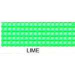 **Vinyl Coated Mesh Roll 18inx36in Lime Green