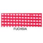 **Vinyl Coated Mesh Roll 18inx36in Fuchsia