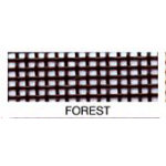 Vinyl Coated Mesh Roll 18inx36in Forest Green