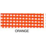 Vinyl Coated Mesh Roll 18inx36in Orange