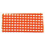 36in Wide Vinyl Coated Mesh Orange