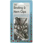 Binding Clips 30ct 6Bx