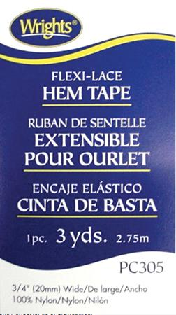 FlexiLace Tape 3/4x3yd, Beige