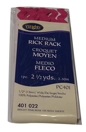 Rick Rack,medium, Black