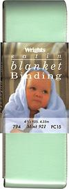 Satin Blanket Binding, Ivory