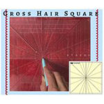 Cross Hair Square Ruler 8 Point 12.5in by Westalee