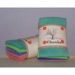 Wooly Chunks 9x10 Rainbow Sherbet