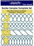 Border Sampler Set of 5 Templates-Low Shank 3mm