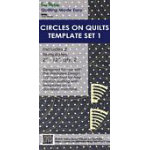 Circles on Quilts Template Set 1 - Long Arm