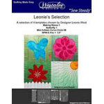 Leonie Selection 4-Piece Template Set - Low Shank