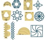 Sampler Template Set 1 Low Shank 3mm Template