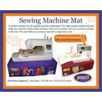 Sewing Machine Mat - Purple