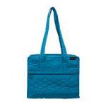 Aqua Quilt Bag