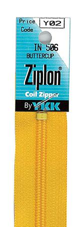 art.122 Ziplon Zipper 22 Smoke Grey