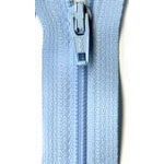 Coil Zipper 22 - Baby Blue