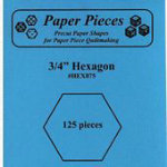 3/4 HEXAGONS125 PIECES