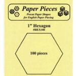 Hexagon 1in 100 Pcs